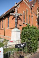 War Memorial, Saint John's Church, Felixstowe, Suffolk