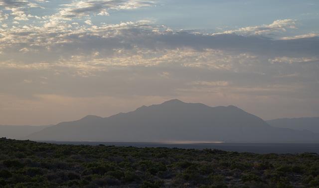 Black Rock Desert, NV sunrise  (0215)