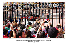 Changing of the Guard - London - 31.7.2014