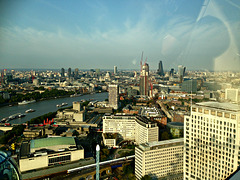 City of London from the Eye