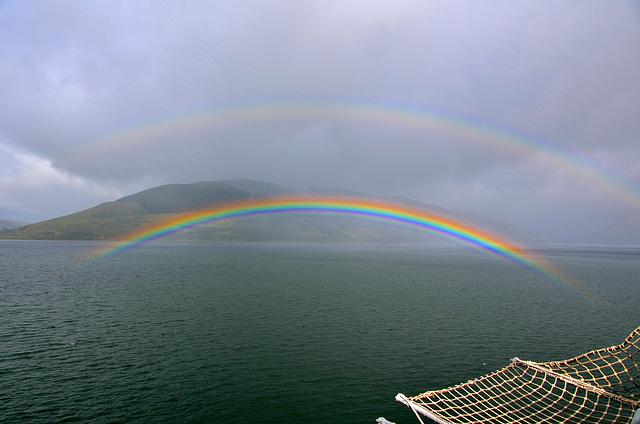 Rainbow over Loch Striven