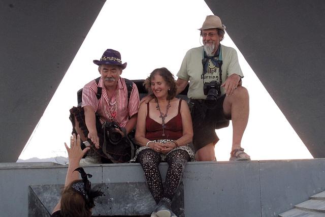 Sharon Shanti Decker & George Post at the Alien Siege Machine (0527
