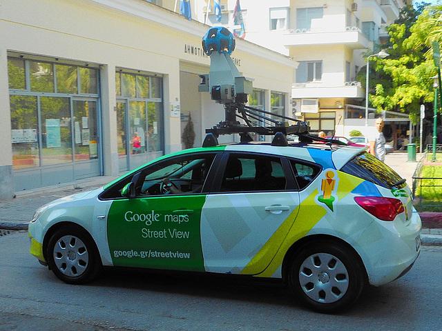GoogleMaps streetview car