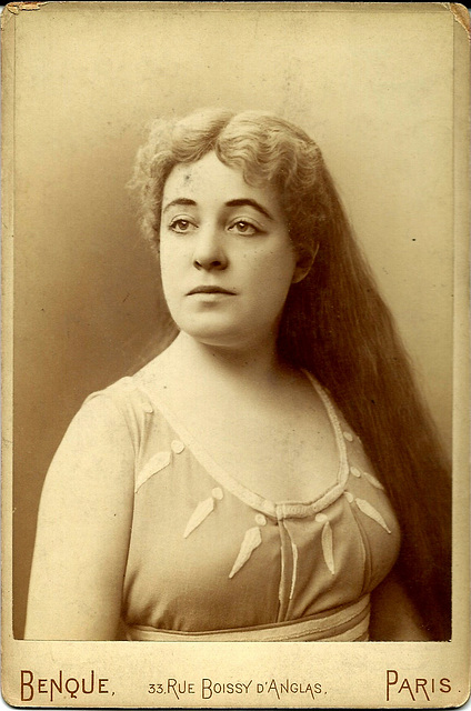 Sybil Sanderson by Benque