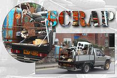 Scrap truck - Newhaven - 1.9.2014
