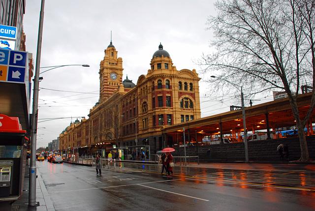 Flinders Street,  Melbourne, VIC, Australia