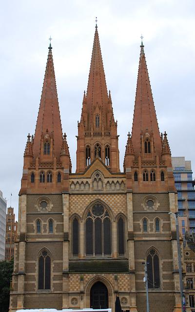 St. Pauls Cathedral,  Melbourne, VIC, Australia
