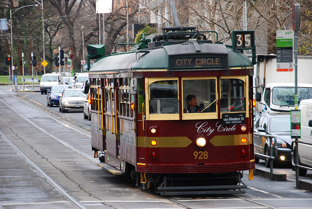 Tag 3 - City Circle,  Melbourne, VIC, Australia