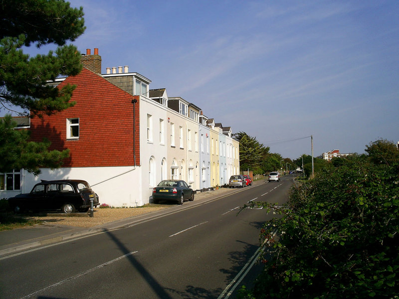 Cottages on Ferry Road, Hayling Island