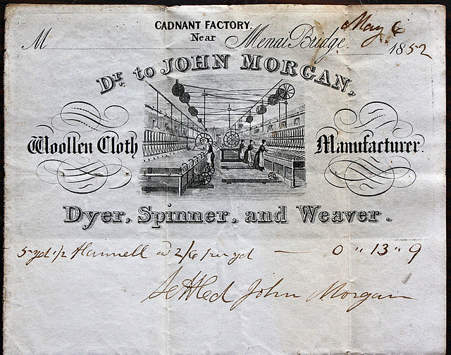 John Morgan, Cadnant Factory, Nr Menai Bridge