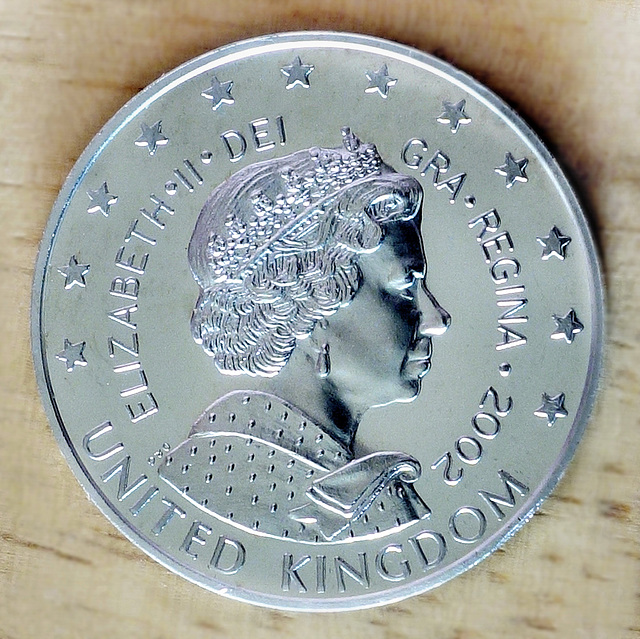 """UK """"Pattern"""" coin (2 of 2)."""