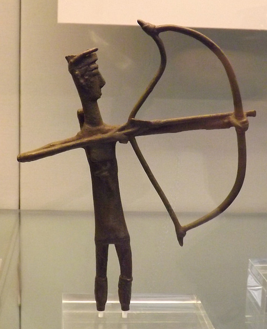 Bronze Votive Figure of a Warrior in the British Museum, May 2014