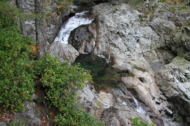 Upper Falls, Wallace River