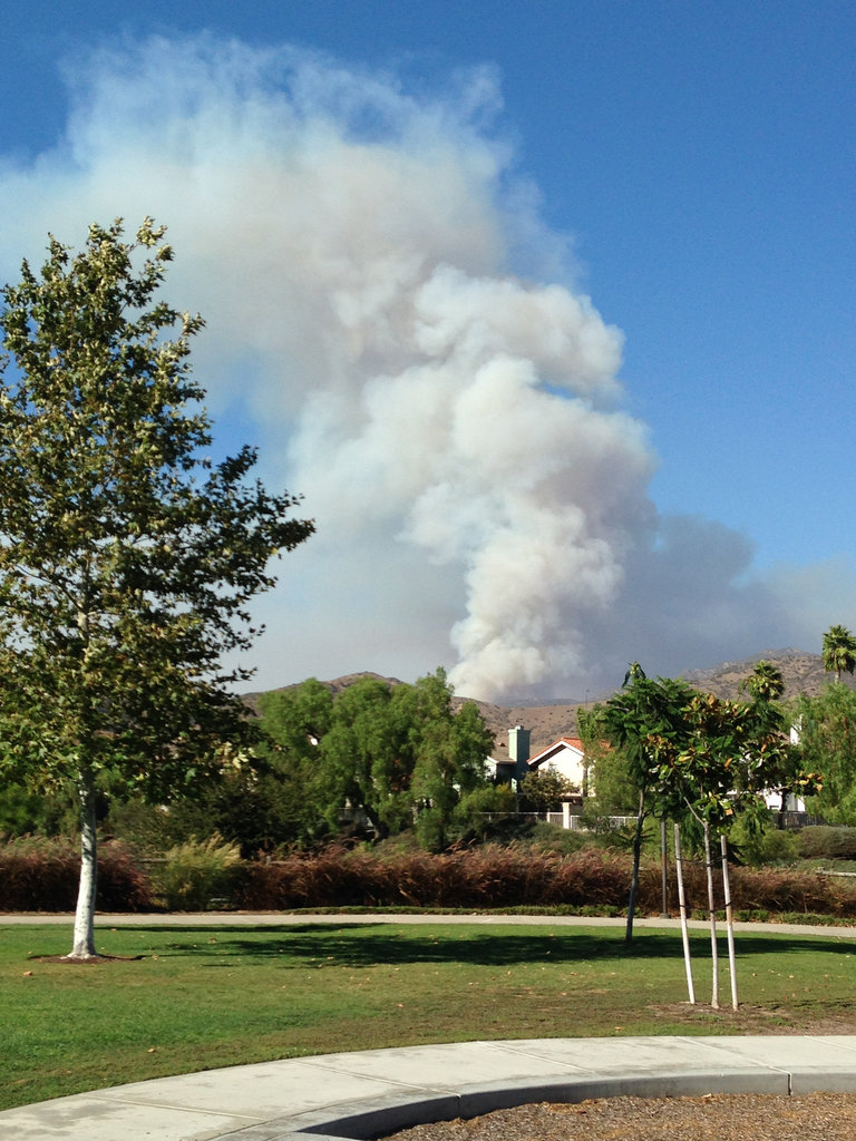 Fire season officially here in the OC