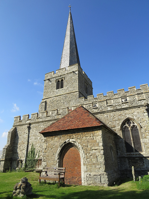 hoo st. werburgh church, kent