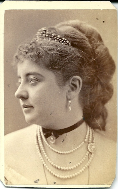 Pauline Lucca by Sarony