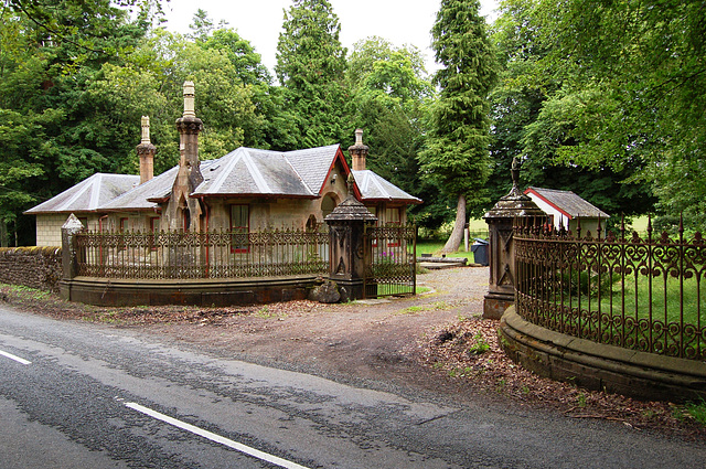 Glassingal House lodge, Kinbuck, Stirlingshire
