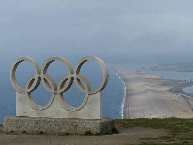 Olympic Rings, Portland (1) - 1 September 2014