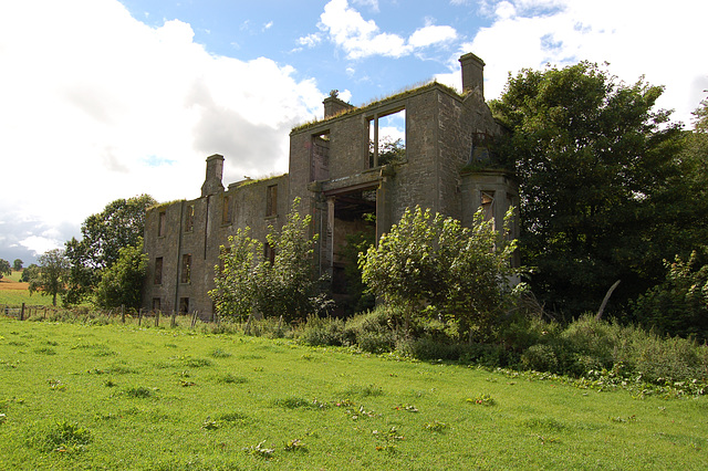 Kincaldrum House, Angus, Scotland