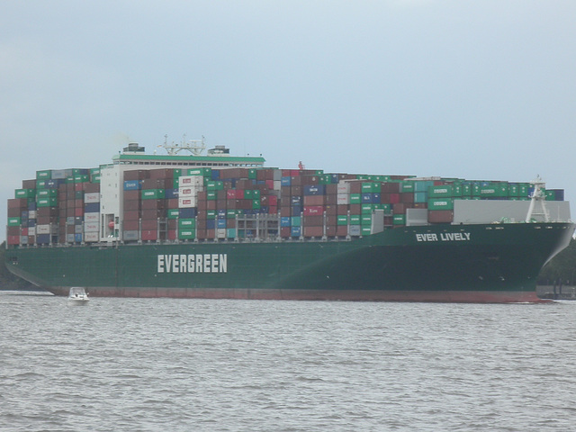 Containerschiff  EVER LIVELY