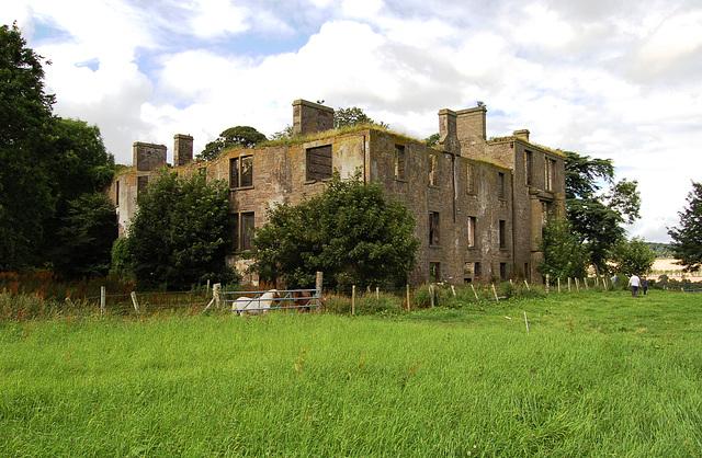 Kincaldrum House, Angus, Scotland