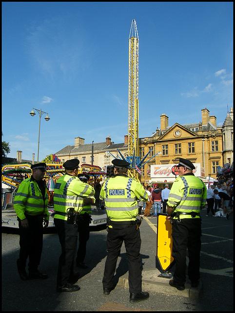 fairground cops