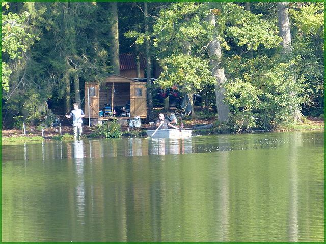 La cabane du pêcheur.