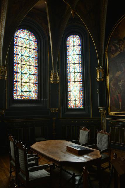 Bayeux 2014 – Old chapel in the Musée d'Art et d'Histoire Baron Gérard
