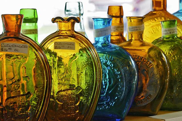 Glass Bottles – Fairfax Street, Berkeley Springs, West Virginia