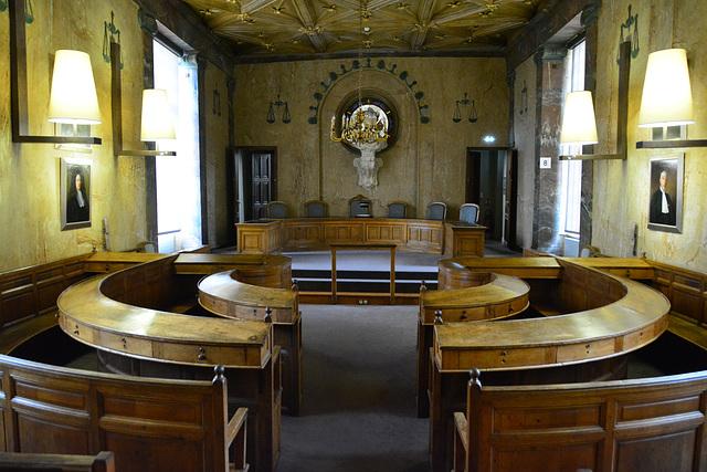 Bayeux 2014 – Old court of justice in the Musée d'Art et d'Histoire Baron Gérard