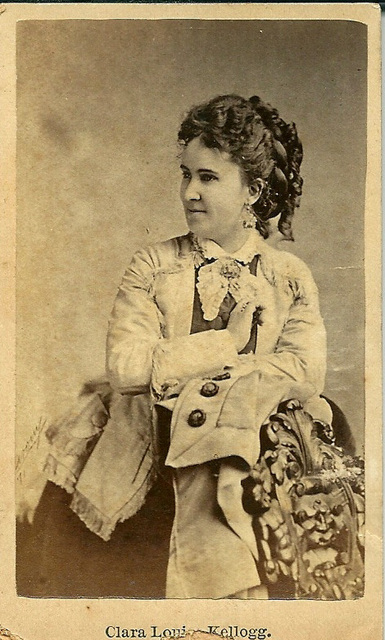 Clara Louise Kellogg by Unknown