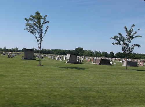 Inclinaison funéraire / Funerary tilt - Photo originale