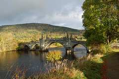 Aberfeldy Bridge, Perthshire by William Adam