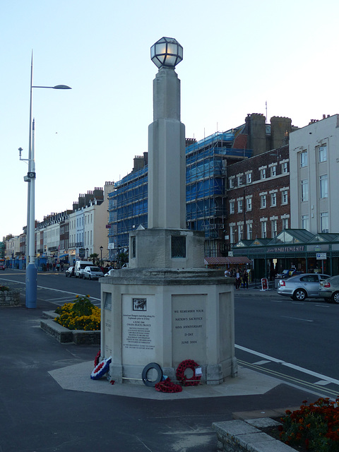 American Servicemen Memorial - 31 August 2014