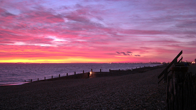 Another sunset over The Solent