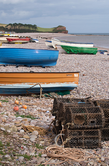 Budleigh boats