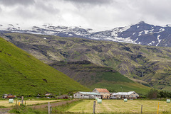 Þorvaldseyri - in the shadow of Eyafjallajökull