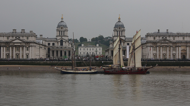 Tall Ships from Island Gardens