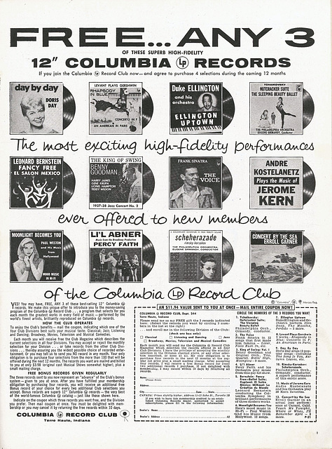 Columbia Record Club
