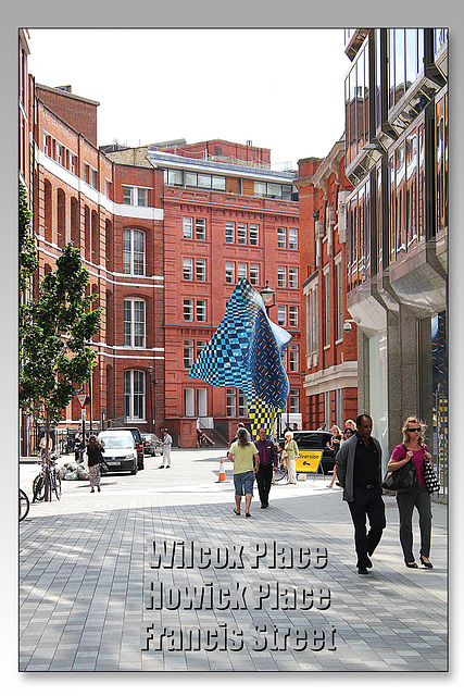 Yinka Shonibare's Wind Sculpture - Victoria - London - 31.7.2014