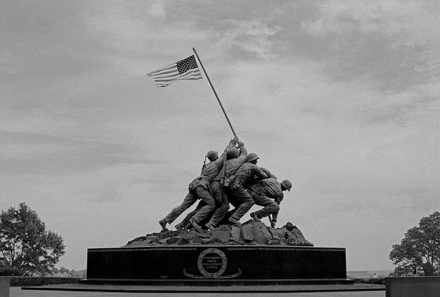 The Iwo Jima Monument