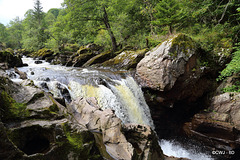 Falls on The River Braan at The Rumbling Bridge