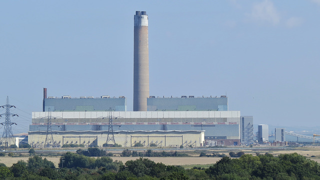 kingsnorth power station, kent