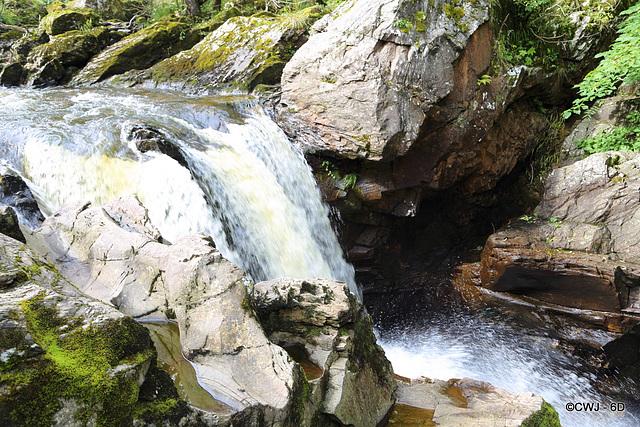 Falls on The River Braan at The Rumbling Bridge