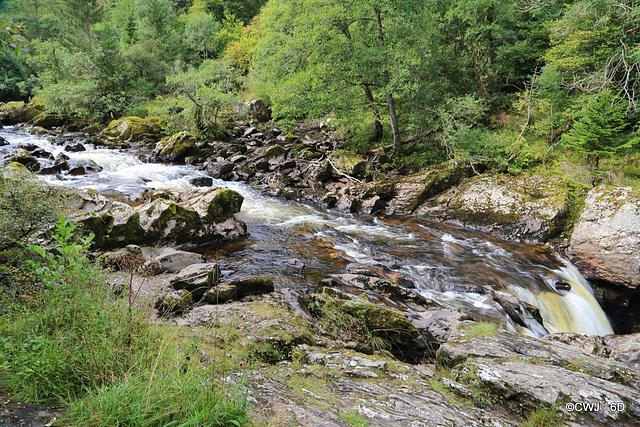 The River Braan at The Rumbling Bridge
