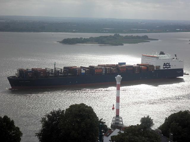 Containerfrachter  Atlantic Compass