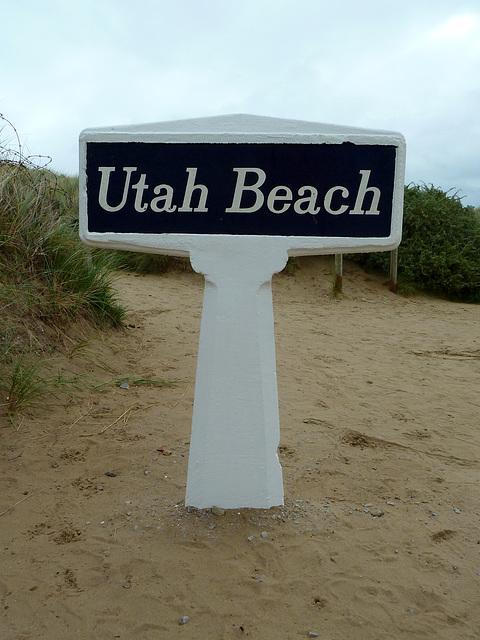 Utah Beach 2014 – Sign