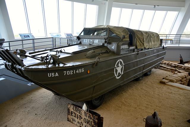 Utah Beach museum 2014 – DUKW Amphibious vehicle