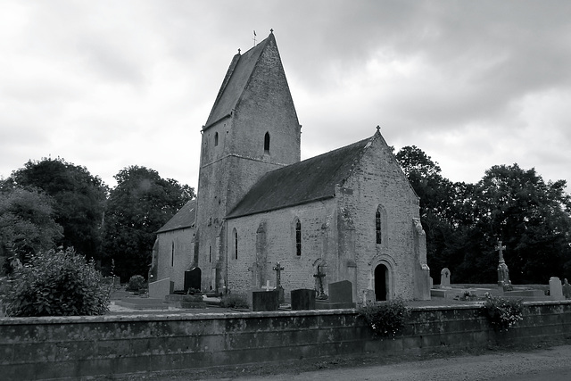 Église Saint-Éloi in Vierville (Manche)