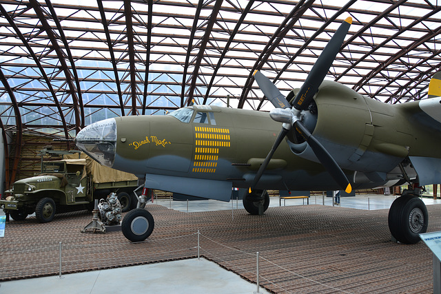 "Utah Beach museum 2014 – B26 ""G"" Marauder ""Dinah Might"""
